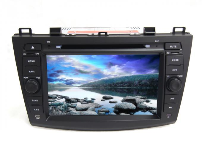Car android 4.4 radio central multimedia dvd player gps audio stereo for mazda 3