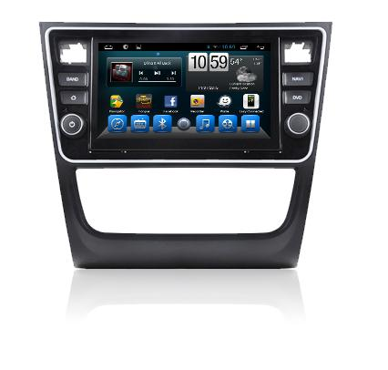 Android volkswagen gps navigation system with dvd player for new gol