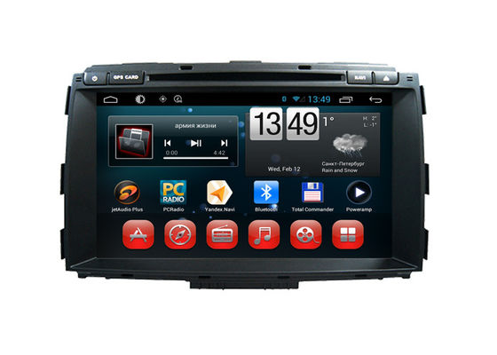چین Android In Car Stereo System Carnival Kia DVD Players Quad Core A7 تامین کننده