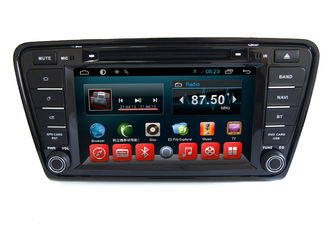 چین Android Car Dvd MP3 MP4 Player VW GPS Navigation System Skoda Octavia A7 Car تامین کننده