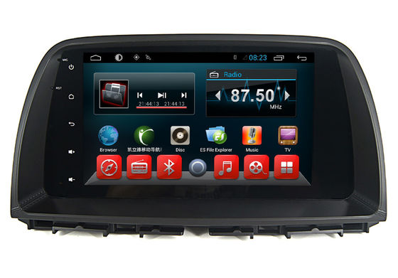 چین Mazda 2 Din Car DVD Central Multimidia GPS Radio System For CX-5 Android Touch Screen تامین کننده