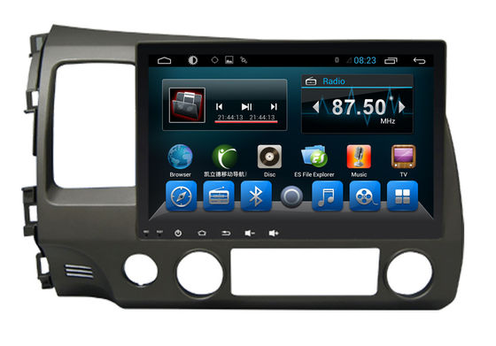 چین Double Din Radio Car PC Bluetooth Dvd Player Civic 2006-2011 Big Screen تامین کننده