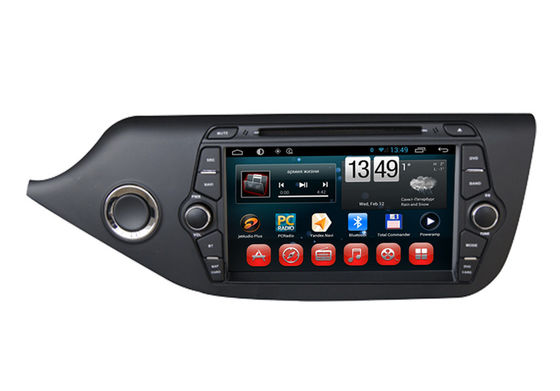 چین Android 4.4 KIA DVD Player For Cee'd 2014 Car GPS Navigaiton Quad Core System تامین کننده