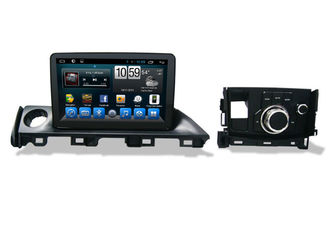 چین 2 Din Radio Central Multimidia GPS , Car Gps Navigation System for Mazda 6 Atenza تامین کننده