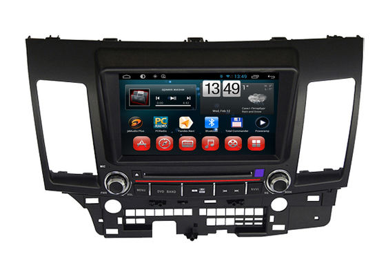 چندرسانه ای Mitsubishi Lancer EX Android 4.2 Navigator Car DVD Player با بلوتوث