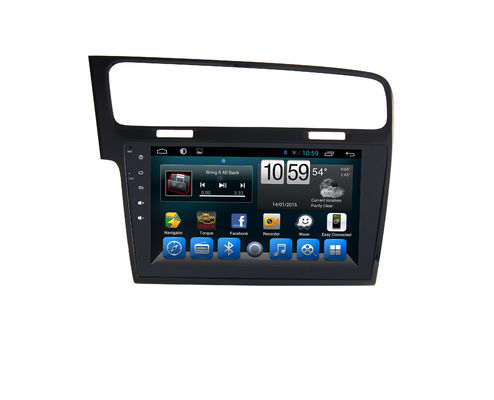 چین Volkswagen Android Car GPS Navigation Touch Screen Audio Wifi Mp3 / Mp4 For VW Golf 7 تامین کننده