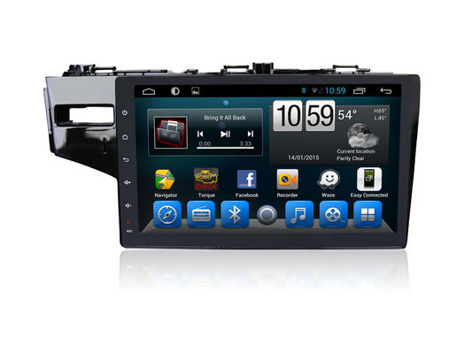 چین Double Din Honda Android Car GPS Navigation Car Audio Stereo Bluetooth Tv Gps Fit تامین کننده