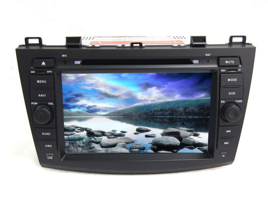 چین Car android 4.4 radio central multimedia dvd player gps audio stereo for mazda 3 تامین کننده