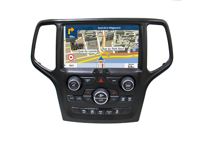 2 Din Android Car GPS Navigation System For Jeep Grand Cherokee Car Video Player