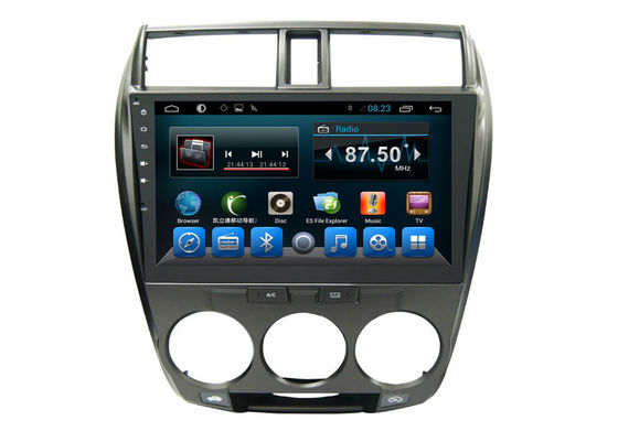 Double Din Honda Navigation System , Multimedia Car Stereo 3G Wifi City 2008-2013
