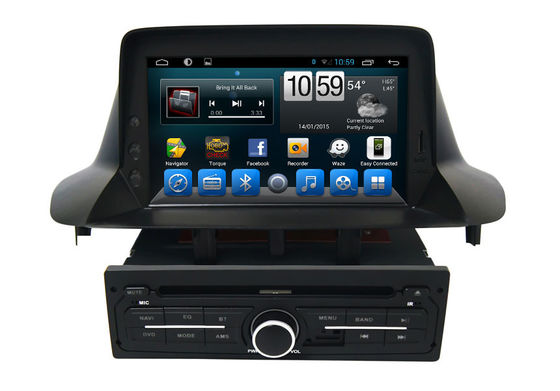 Touch Screen In Gps Car Navigation System  Megane Fluence 2013 2014