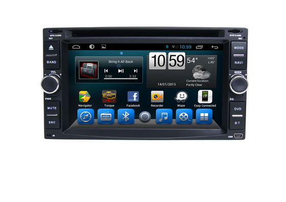 سیستم چندرسانه ای 6.2 Inch DVD Car Stereo Universal Multimedia Car Navigation با بلوتوث
