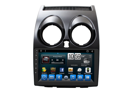 1080P 9 اینچی Nissan Car Dvd Gps ناوبری X دنباله / Qashqai 2007-2015