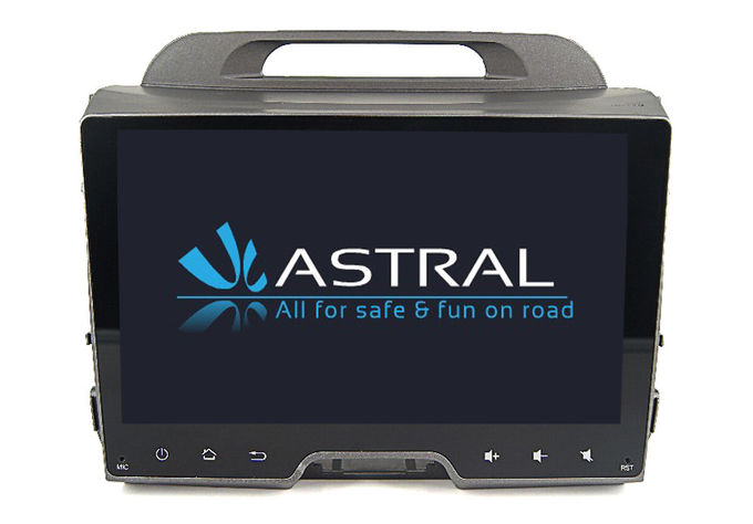 2 Din Auto Radio Bluetooth Kia DVD Player Sportage 9 Inch Touch Screen