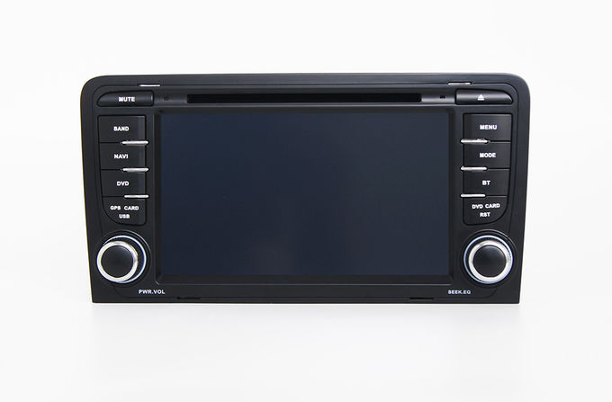 2 Din RDS Radio Audi Central Multimidia GPS Dvd Cd for Audi A3 S3 RS3 2002-2013
